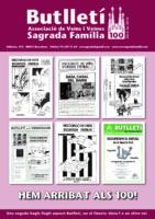 2016 ABRIL NÚM. 100 Associació de Veïns SAGRADA FAMÍLIA